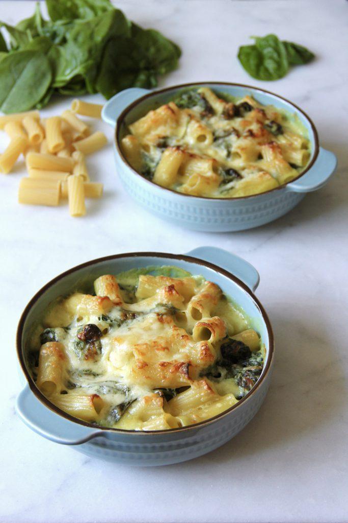 Spinach Macaroni Cheese